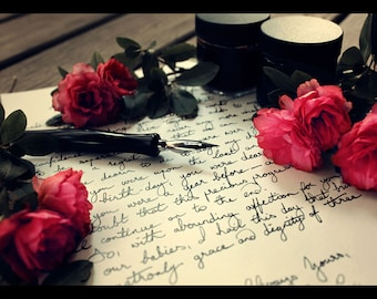 Handwritten Letter Service | Ivory A5 Paper, Black Ink | A Memorable Gift and Keepsake