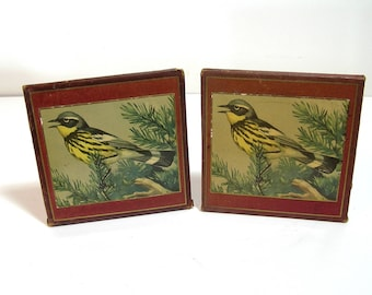 Bird Book Ends Magnolia Warbler National Wildlife Federation