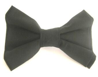 Black Dog Bow Tie Large Dog Bow Tie Pet Bow Tie Bowtie For Dog Small Dog Bow Tie Wedding Dog Bowtie