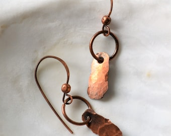 All Copper, Go with Anything, Everyday Light and Comfortable Earrings