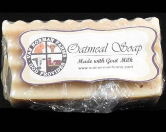 Oatmeal Soap (with Goat Milk) 2oz.
