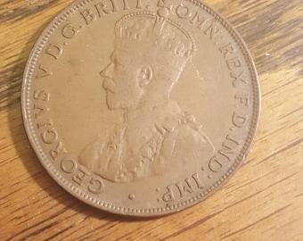 1922  Australia Penny    may18