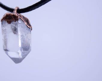 Quartz Crystal | Electroform Pendant