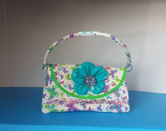 Girls Duct Tape Butterflies Purse