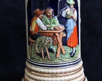 Vintage West Germany Stein / Tankard / Beer Mug. No Lid.
