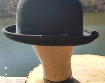 Vintage Classy gentleman bowler hat