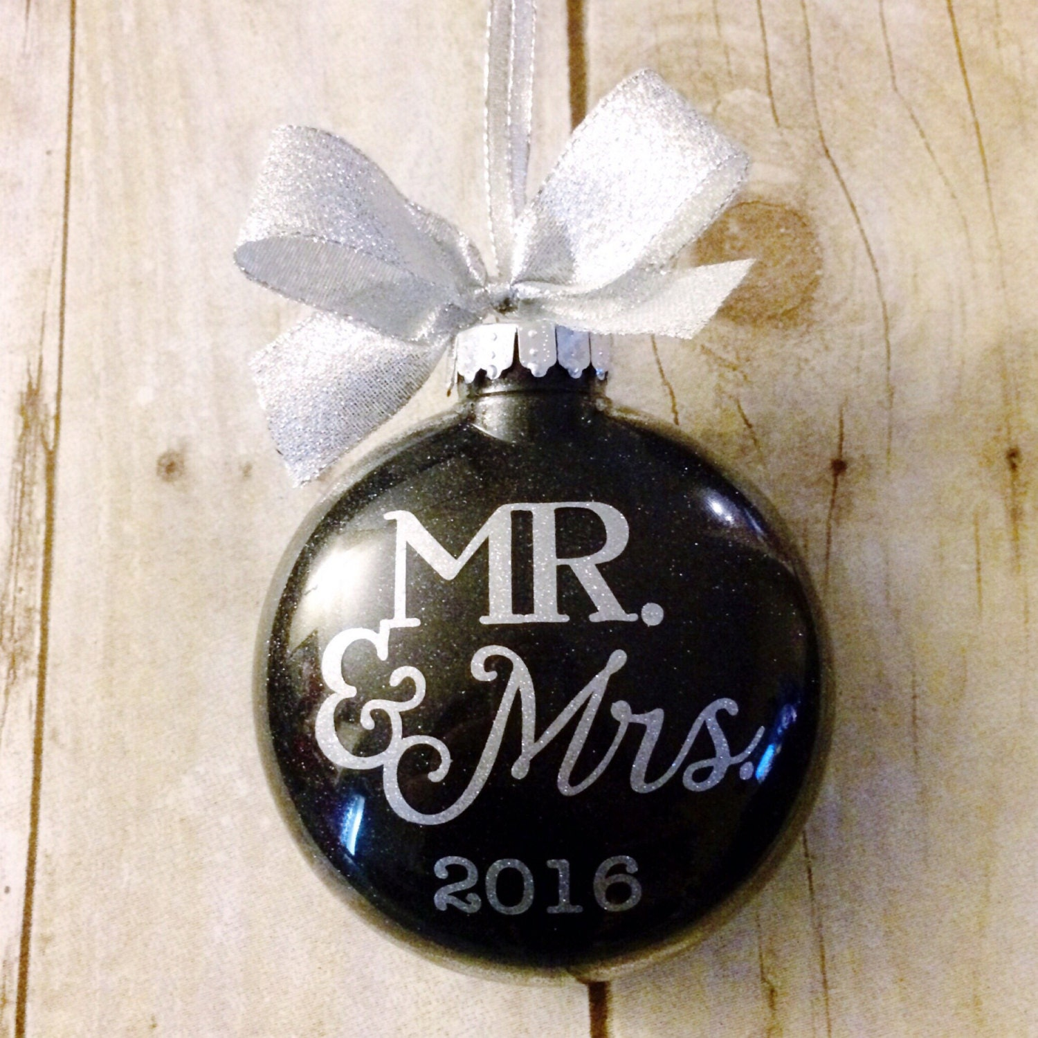 Christmas Ornament Wedding Gift: Personalized Wedding Ornament Wedding Christmas Ornament