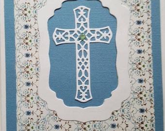 Cross encouragement card