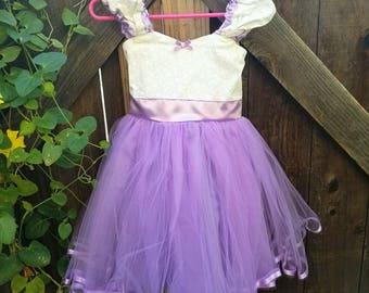 lavender dress, flower girl dress, lavender flower girl, size 2/3t, vintage flower girl dress,  tutu dress, flower girl dress tutu SALE