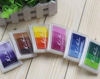 Pad gradient 4 color large format (6 designs)