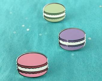 Macarons Enamel Lapel Pin Set