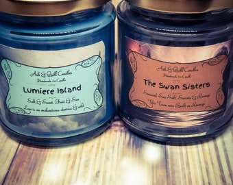 Any 2 jars   7oz Bookish Candle   Soy Candle   Book Candle   Book Lover Gift   Scented Soy Candle