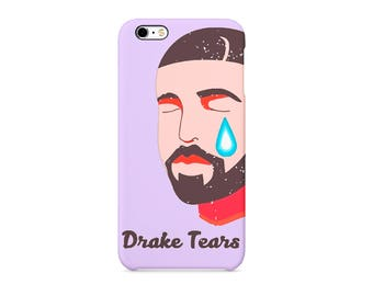Drake Tears Canadian rapper Degrassi  Phone case for / iPhone / Huawei /Samsung Galaxy