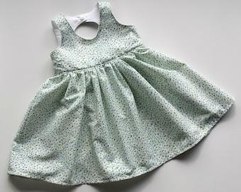Tiny Flower Tea Party Dress Size 0