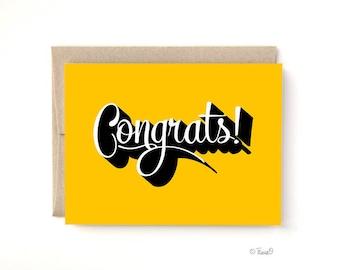 Congrats Card, A2 Card