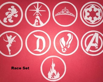 runDisney Half Marathon Race Decal Set