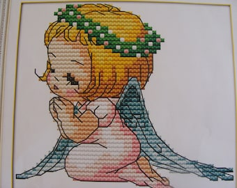 """Little angel"" cross stitch Embroidery Kit"