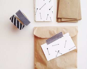 Arrow Mini Flat Cards & Minilopes