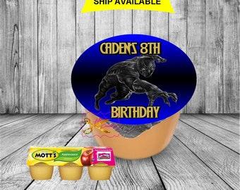 Black Panter Applesauce Label (PDF File Only)