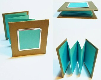 Mini Accordion Booklet - 3 styles