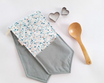 Kitchen glove, oven mitt, long oven gloves, pot holders and oven mitts, Copriforno set, kitchen set, new home gift