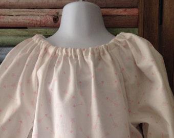 Girls dress, Girls peasant dress, Little girls dress, Toddler dress, Size 2T, Girls Easter dress, Girls spring or summer dress, #155