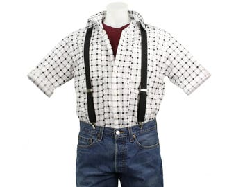 Marty McFly Checkered Costume Shirt