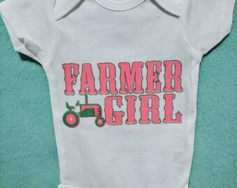 Farmer girl onesie