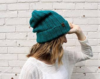 Classic Slouchy Winter Beanie | Knit Winter Hat