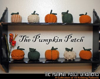 The Pumpkin Patch Ornaments Knitting Pattern