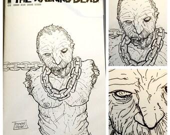 Walking Dead #150 Sketch Cover Zombie