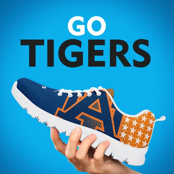 Auburn Womens Kids Mens White Shoes Gift Tigers Custom Gift Sizes Gift Trainers Running College Black Collector Sneakers BqBgXrp
