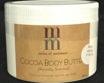 Cocoa Body Butter   All Natural Body Butter, Body Butter Cream    Vegan Moisturizer   Vegan Lotion   Vegan Body Butter