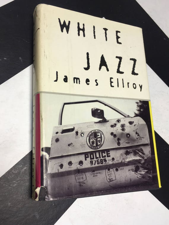 White Jazz by James Ellroy vintage noir thriller mystery book (Hardcover, 1992)