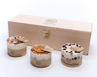 Beauty Scents 3 Candle Design Set small
