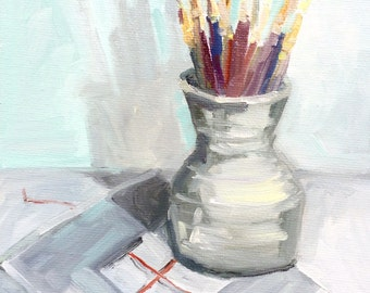 Paint Brushes, View Finder, Original Oil Painting, Oil Painting, Daily Painter, Daily Painting, Paint Brushes