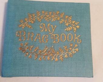 Vintage 1960s My Brag Book Photo Album