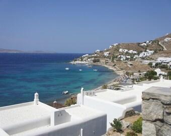 Greek Islands print, Greek Islands photography, Greek Islands art, Mykonos, Mykonos print, Mykonos photo, Mykonos sea, Mykonos wall art