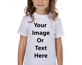 Customized All Over Printed Toddlers T-Shirt