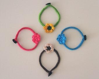Cute flower bracelet
