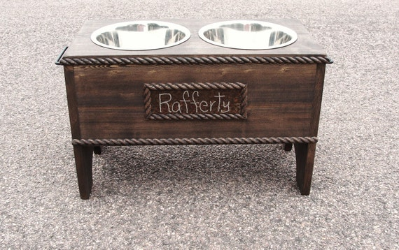 what give will feeder dish pooch the personalized in wooden friends to pin dog bowl elevated wuv i rustic here our you s stand best feeders custom make large ll happy deals