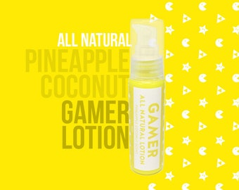 Gamer Lotion - Pineapple Coconut Scent