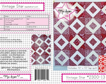 Vintage Star PDF Quilt Pattern