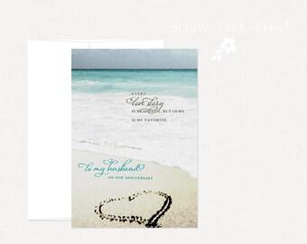 Husband Anniversary Card, Romantic Card, Romantic Love Card, Anniversary Card,