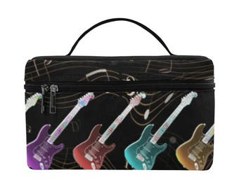 Rock and Roll, Large Insulated Lunch Bag, food storage, lunch bag, lunch tote