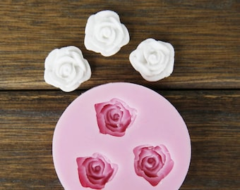 Silicone Mould 3 Roses