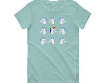 Unicorn Stand Out Short Sleeve Women's T-shirt