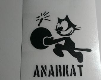Anarkat Vinyl Decal