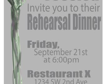 Asparagus Invitation