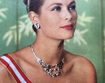 Rare Paris Match 17 October 1959 edition of Princess Grace Kelly and Prince Rainier
